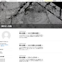 第21投稿 〜  コロナ対策とかの妄想 〜 - 補助なし別館