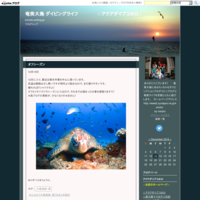 魚群とアオウミガメ 奄美大島ダイビング - 奄美大島 ダイビングライフ    ☆アクアダイブコホロ☆