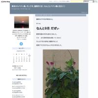 あーーぁ六月がぁー - 東京からペナン島、そして今、福岡市(旧 : わんことペナン島に住む! )