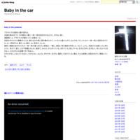 猫にコバーンと微笑み返し - Baby in the car