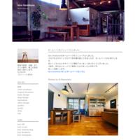 wood deck+iron handrail - hiro furniture