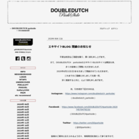 【NEIGHBORHOOD】 NEW ITEM - -- DOUBLEDUTCH parkside --  recommend