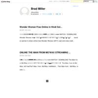 Wonder Woman Free Online in Hindi Solar Movies no sign up HD 1080p no login - Brad Miller