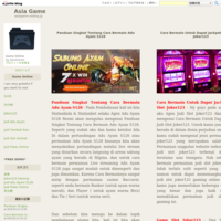 Permainan Joker123 Slot Online Official Gaming - Asia Game