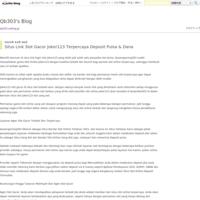 Joker303 Situs Tembak Ikan Terbaik Dengan Minimal Deposit 10rb - Qb303's Blog