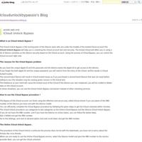 iCloud Unlock Bypass - Icloudunlockbypassio's Blog