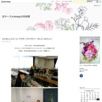 blogアクセス数 『祝 2000名』 - 花サークルAmelyの花時間