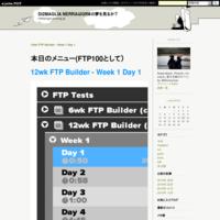 12wk FTP Builder - Week 1 Day 1 - Di2MAGLIA NERRAはGRⅡの夢を見るか?