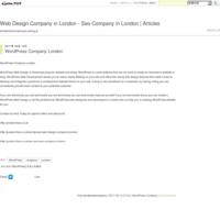 Seo Services Company London - Tutorial - Web Design Company in London - Seo Company in London   Articles
