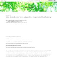 Golden Slumber Download Torrent dual audio Online Free yesmovies Without Registering - Christina Riplinger