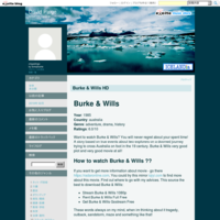Burke & Wills HD - David Paige