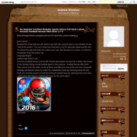 No Register Verified Website Sports Genre Full Hack  Latest Version Football Heroes PRO 2016 1.7 V - Andrew Stroman