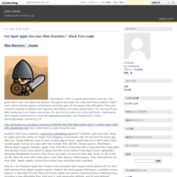 For Ipad Apple On-Line Mini Warriors? Hack Free Legit - Jake Jakab