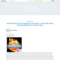 WITHOUT ROOT GLITCH NBA JAM BY EA SPORTS? HACK FREE CODES ARCADE GENRES HELP ME FIND CHEAT - Jenny Cunningham