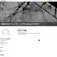現在までの戦績5/11現在 - 日経225オプションでトレードするdoctorのブログ