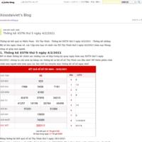 Thống kê XSTN thứ 5 ngày 4/2/2021 - Xosodaiviet's Blog
