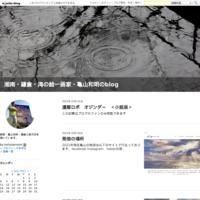 2017年ありがとう。 - 湘南・鎌倉・海の絵〜画家・亀山和明のblog