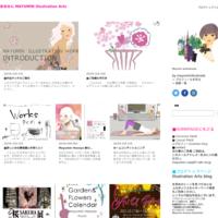 イラストマップ Ginza Wedding book - 女性誌、web、広告 |美しい女性と花と食のイラストレーション|まゆみん