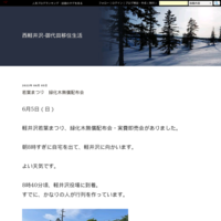 テニスの試合 キムタクのドラマ - 西軽井沢-御代田移住生活