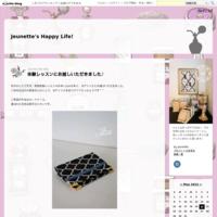 10月のレッスンスケジュール - Jeunette's Happy Life!