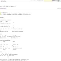 アイヌ語と日本語の中に残る「縄文語」ーその262 - アイヌのこともっと知りたい