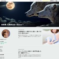 金森蓉、文房具日記~Meteor~